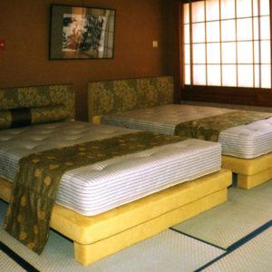 伊豆市内旅館 特注ベッド